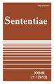 View Vol. 28 No. 1 (2013): SENTENTIAE