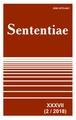 View Vol. 37 No. 2 (2018): SENTENTIAE