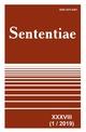 View Vol. 38 No. 1 (2019): SENTENTIAE