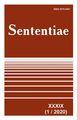 View Vol. 39 No. 1 (2020): SENTENTIAE